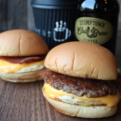 Sausage Egg N' Cheese sold by Shake Shack