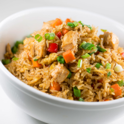 Chicken Fried Rice sold by Planet Hollywood