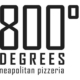 800 Degrees Pizza logo