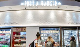 Pret-A-Manger storefront image
